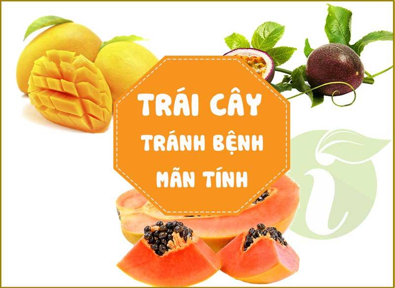 tác dụng tránh bệnh mãn tính của trái cây sấy