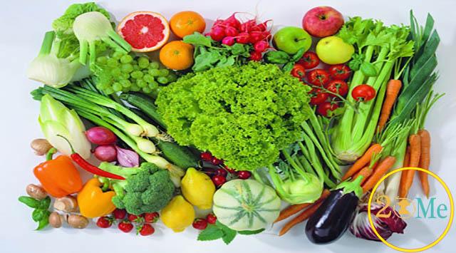 Chế độ rau xanh trong thực đơn hàng ngày