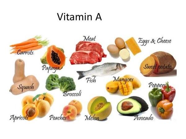 Thực phẩm vitamin A giúp tăng cường quá trình đào thải các sắc tố có sẵn trên da nhanh chóng hơn