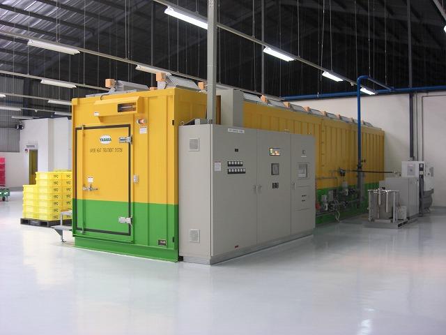 Công nghệ xử lý trái cây tươi VHT (Vapor Heat Treatment)