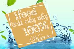 Nông sản sấy | Trái cây sấy dẻo IFood 100% tự nhiên