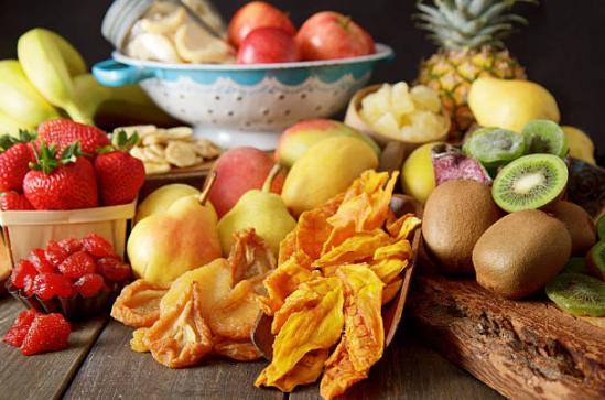 Các loại trái cây sấy dẻo hấp dẫn