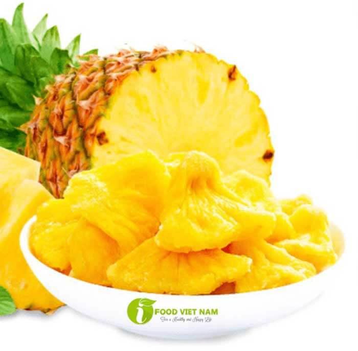 trái cây sây Khóm sấy dẻo Ifood