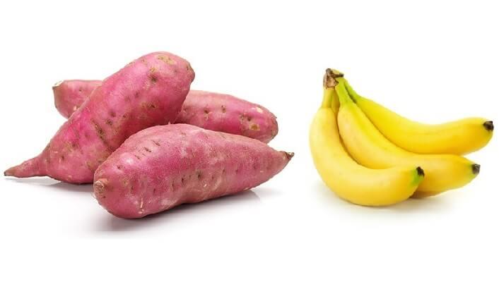 thực đơn ăn khoai lang giảm béo