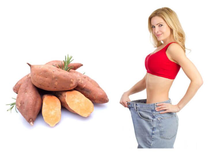 Ăn khoai lang có thể giảm cân
