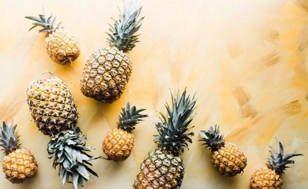 dứa - 10 loại trái cây tốt cho từng bộ phận cơ thể