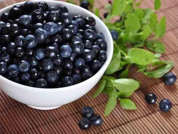 việt quất -10 loại trái cây tốt cho từng bộ phận cơ thể
