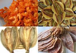 Hải sản khô - Đặc sản Phú Yên