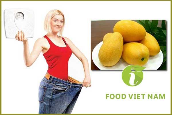 ăn xoài có tăng cân không