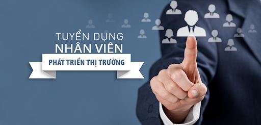 Tuyển dụng nhân viên kình doanh và phát triển thị trường