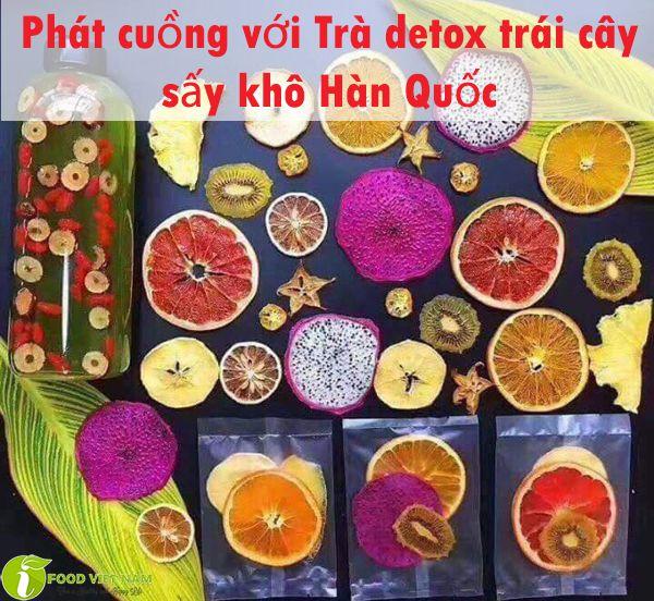 Phát cuồng với Trà detox trái cây sấy khô Hàn Quốc