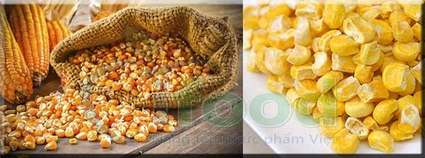 Hạt bắp sấy khô