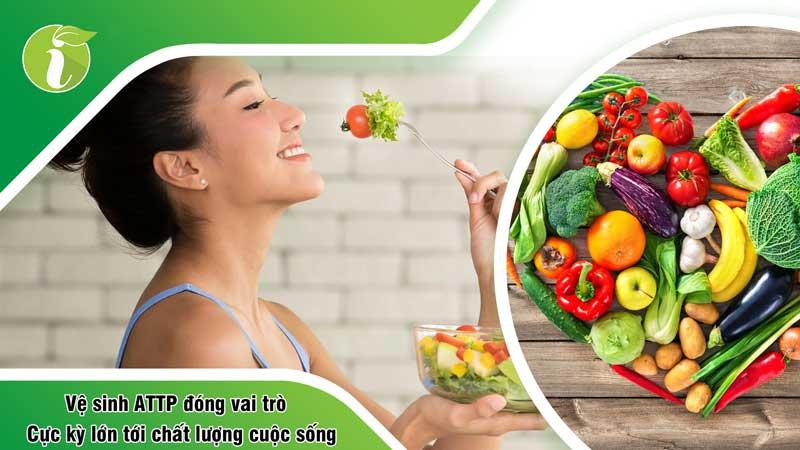 Vai trò của an toàn thực phẩm đối với sức khỏe con người