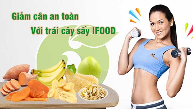 giảm cân bằng trái cây sấy
