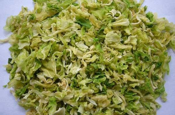 Rau cải bắp sấy khô