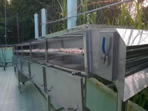 Máy sấy nông sản bằng năng lượng mặt trời hô biến ước mơ thành hiện thực